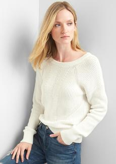 Gap Back-strap ribbed sweater