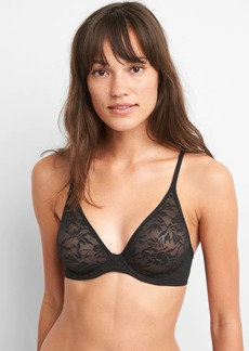 Gap Bare Natural Plunge Lace Bra