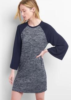 Gap Bell-Sleeve Raglan T-Shirt Dress
