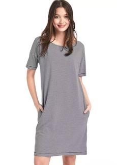 Boatneck tee dress