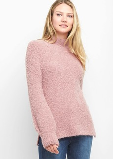 Gap Boucle Funnel-Neck Pullover Sweater