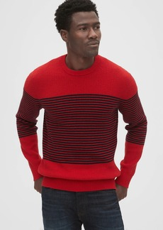 Gap Breton Stripe Crewneck Sweater