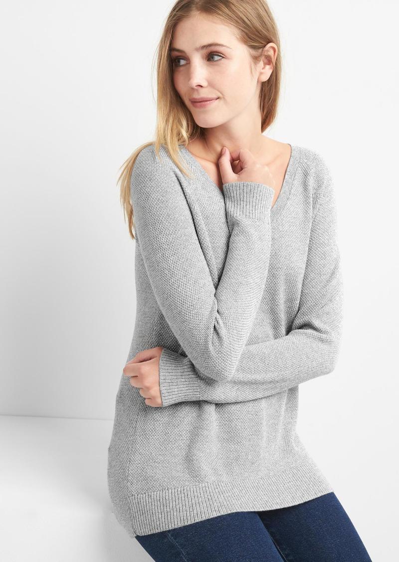 Gap Brooklyn V,neck raglan sweater
