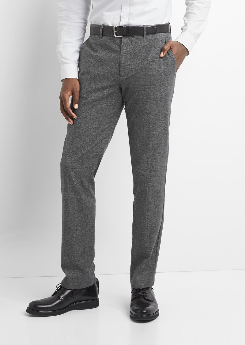37fbd5bf Gap Brushed Cotton Pattern Pants in Slim Fit with GapFlex Now $24.99