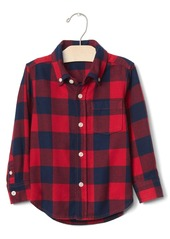 Gap Buffalo plaid button-down shirt