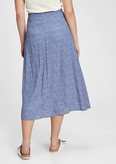 Gap Lenzing&#153 Ecovero&#153 Button-Front Midi Skirt
