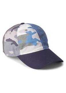 Gap Camo Patchwork Baseball Hat