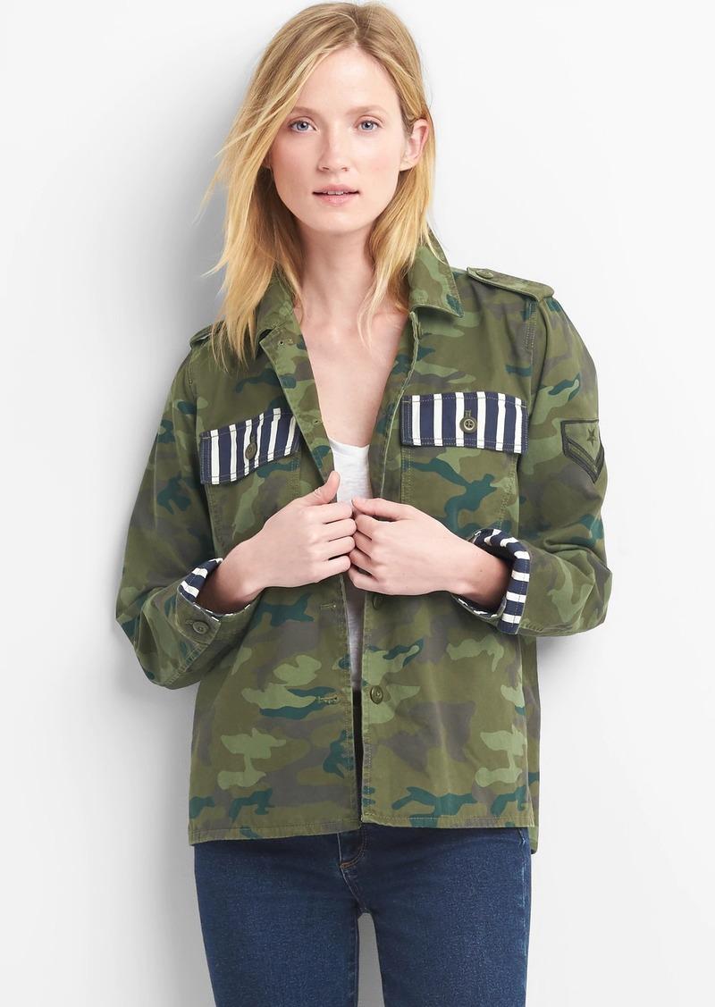 52cf658f6fe3a Gap Camo utility jacket | Outerwear