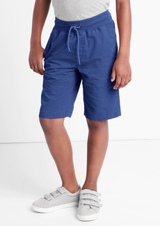 Gap Canvas pull-on shorts