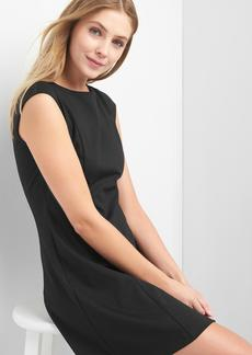 Cap sleeve fit and flare dress