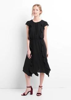Gap Cap sleeve flutter midi dress