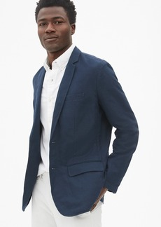 Gap Casual Classic Blazer in Linen-Cotton