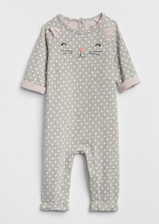 Gap Cat Dot Double-Faced One-Piece