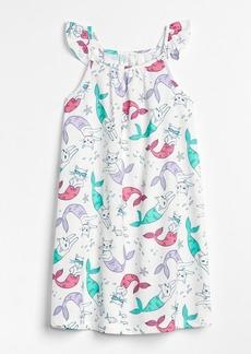Gap Cat Mermaid PJ Dress