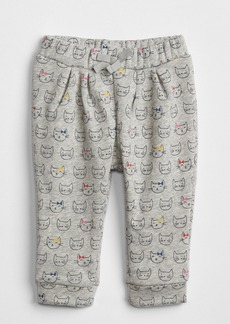 Gap Cat Print Pull-On Pants