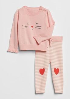 Gap Cat Sweater Set