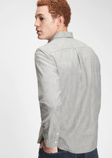 Gap Chambray Shirt in Untucked Fit