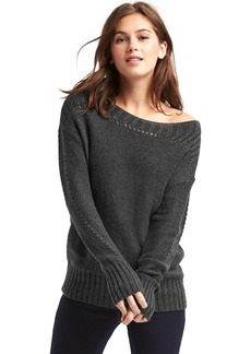 Gap Chunky pointelle sweater