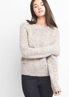 Gap Chunky raglan crewneck sweater