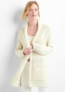 Gap Chunky shawl collar cardigan