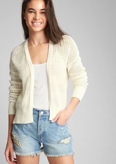 Gap Cocoon Open-Front Cardigan Sweater