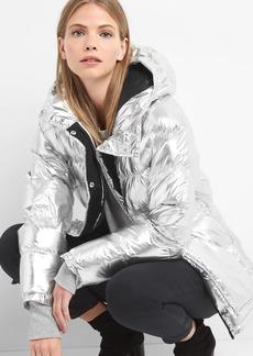 ColdControl Max oversize metallic puffer jacket