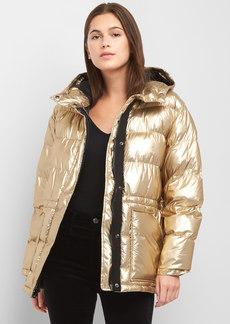 Gap ColdControl Max oversize metallic puffer jacket
