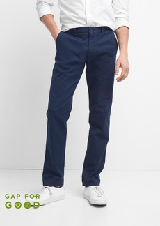Color Khakis in Slim Fit with GapFlex