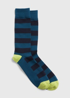 Gap Colorblock Stripe Crew Socks