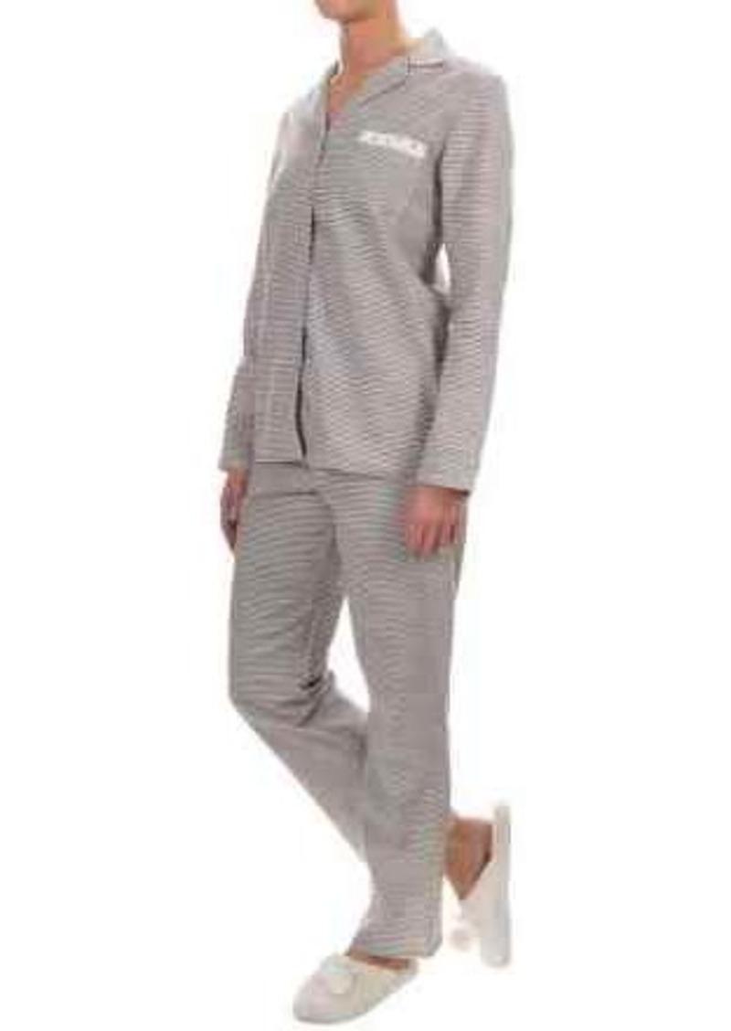 Gap Company Ellen Tracy Classic Flannel Pajamas - Long Sleeve (For Women)