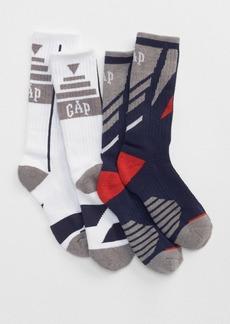 Gap Coolmax&#174 athletic crew socks (2-pairs)