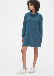 Gap Cowl-Neck Swing Sweatshirt Dress
