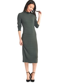 Cozy modal long sleeve dress