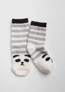 Gap Cozy Panda Stripe Socks