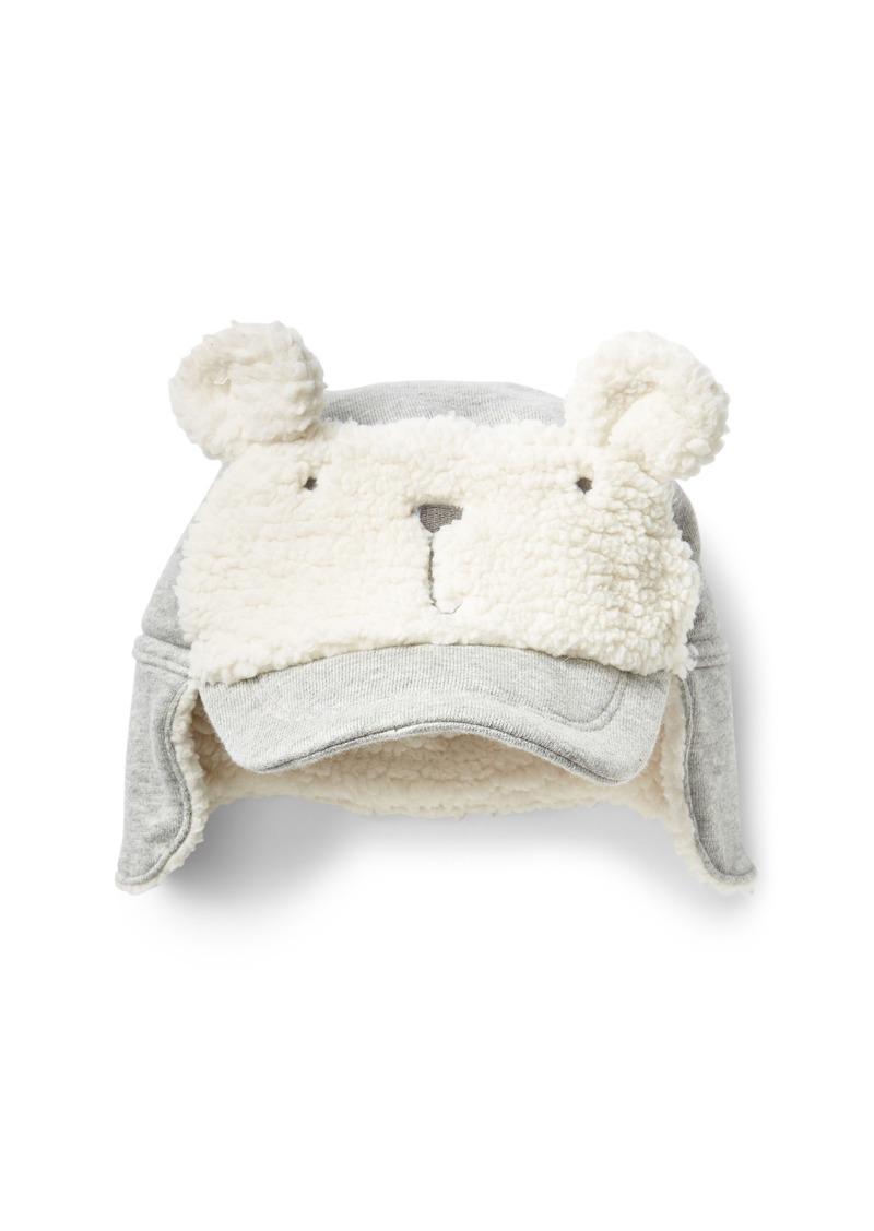 f8ae32a8ef8 On Sale today! Gap Cozy polar bear trapper hat
