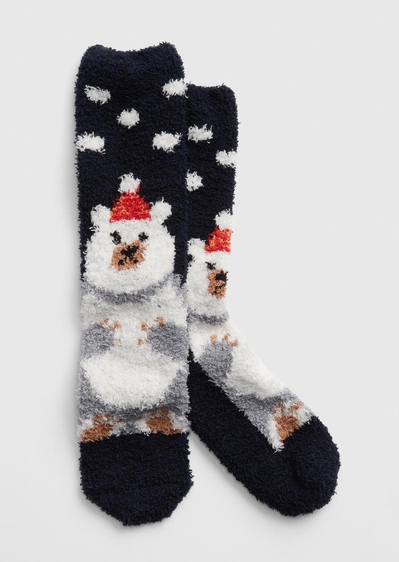 Cozy Print Socks
