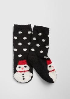 Gap Cozy Snowman Socks