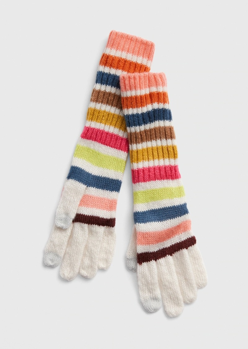 Gap Crazy Stripe Gloves