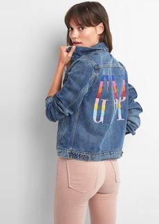 Crazy stripe logo Icon jacket