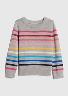 Gap Crazy Stripe Pullover Sweater