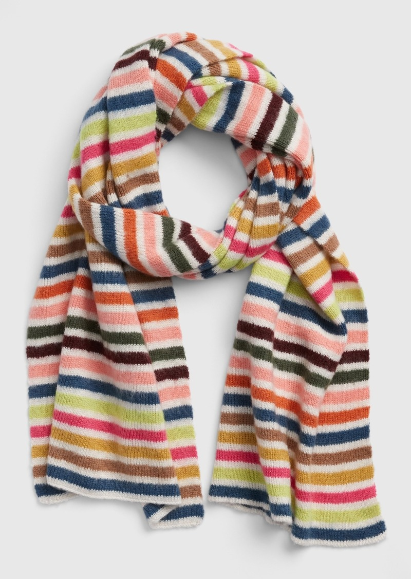Gap Crazy Stripe Scarf