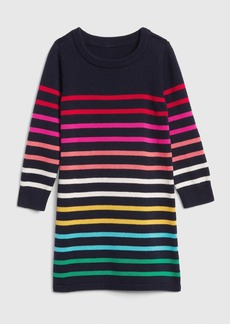 Gap Crazy Stripe Sweater Dress