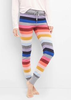 Gap Crazy stripe sweater leggings