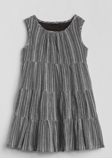 Gap Crinkle Tiered Dress