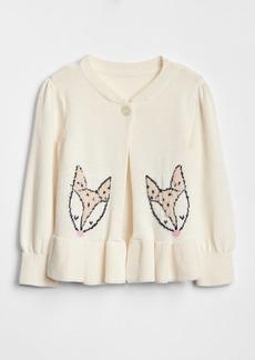 Gap Critter Peplum Sweater