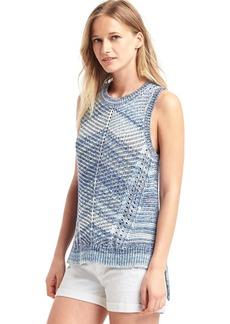 Gap Crochet step-hem tank