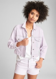 Gap Crop Icon Denim Jacket