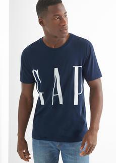 Gap Crop logo crewneck tee