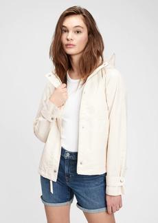 Gap Recycled Cropped Anorak Jacket