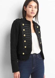 Cropped band jacket